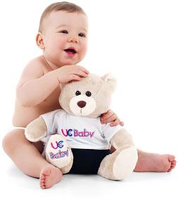 UC Baby 3D Ultrasound Heartbeat Bears®