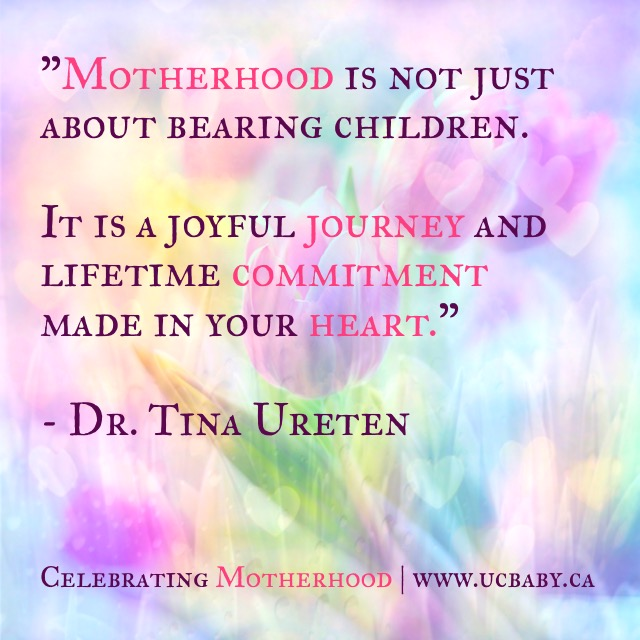 Mothers Day Message from UC Baby