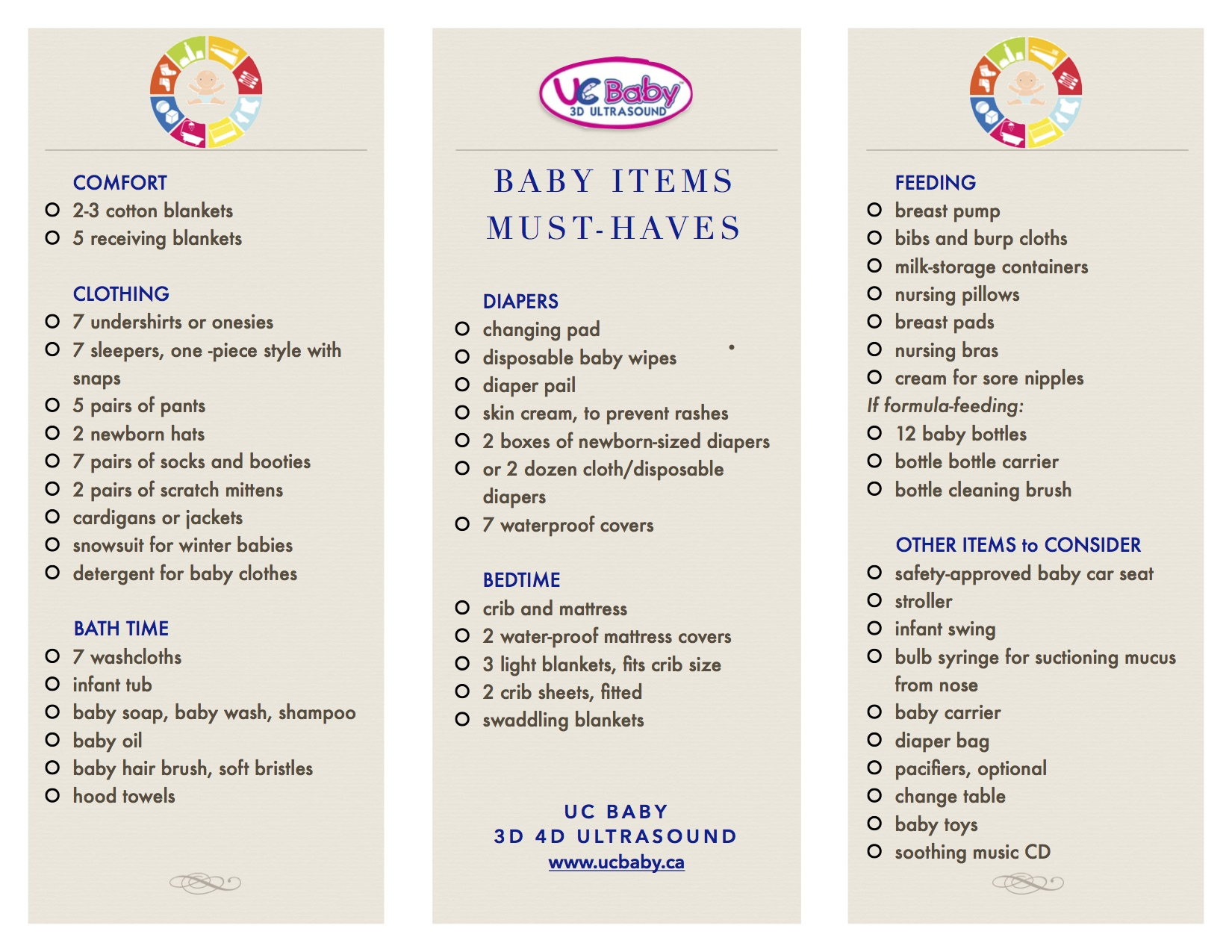List Of Baby Clothes Needed For Newborn