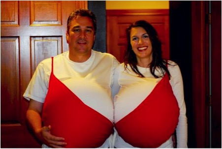 Halloween Costumes - What a Pair!