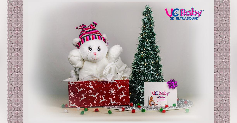 uc baby holiday gift heartbeat bear girl