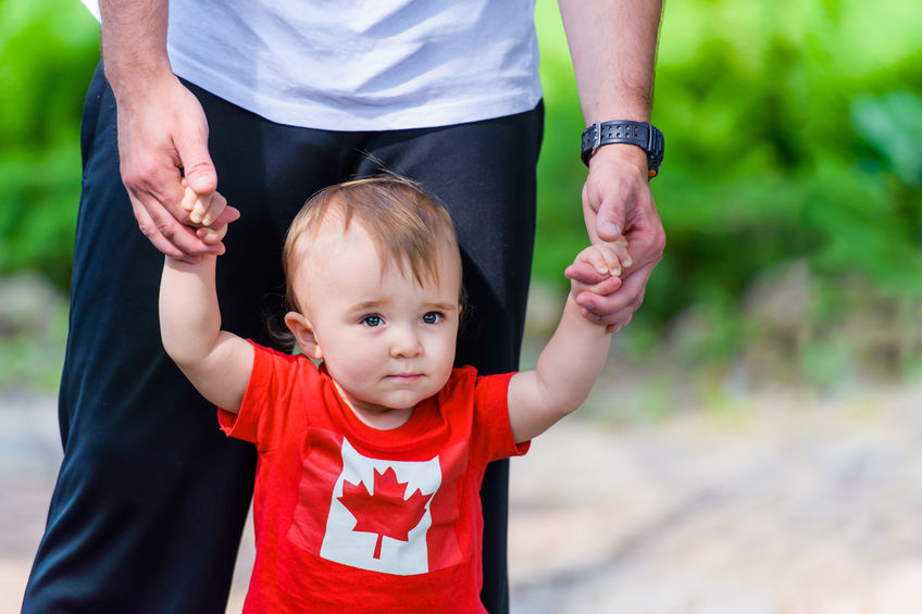 Canada Day Family