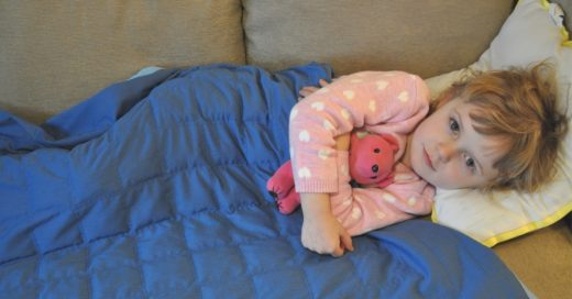 bb weighted health blanket image