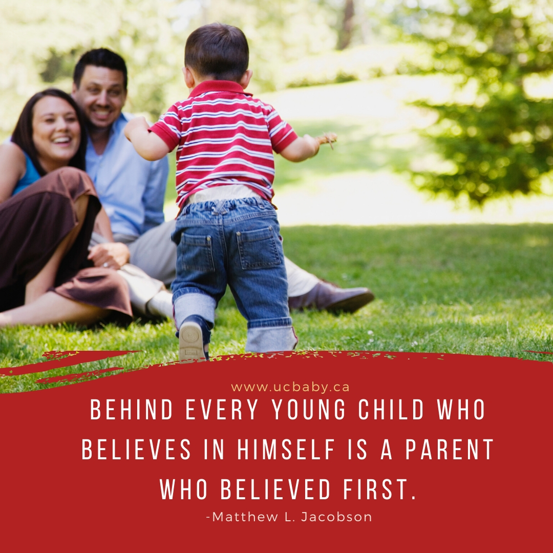 UC Baby Motherhood Quote 112019 - Believe in Child