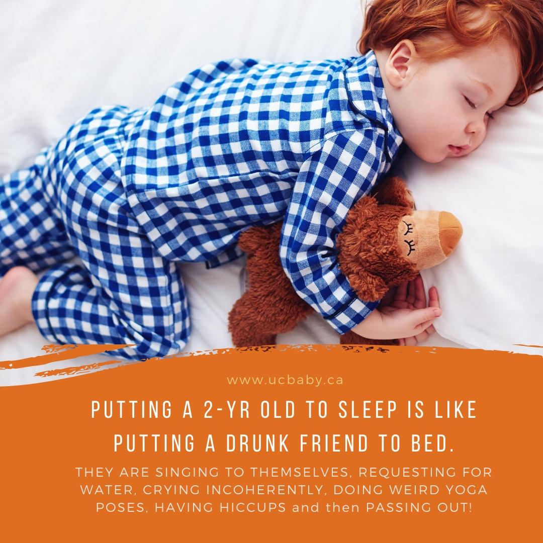 UC Baby Motherhood Quote 112019 - Toddler to Sleep