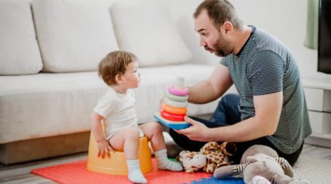 UC Baby Blog Potty Training Toddler