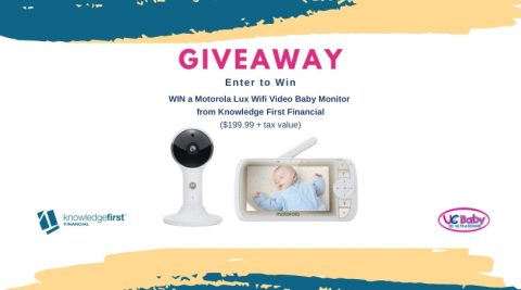 Knowledge First Giveaway Vide Baby Monitor